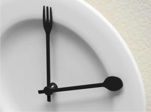modificar el horario de las comidas