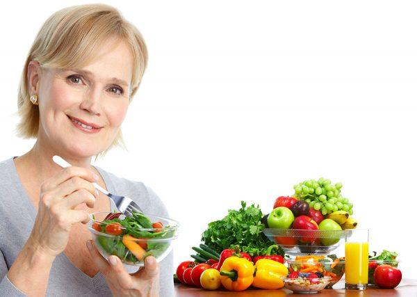 Alimentación saludable después de los 50